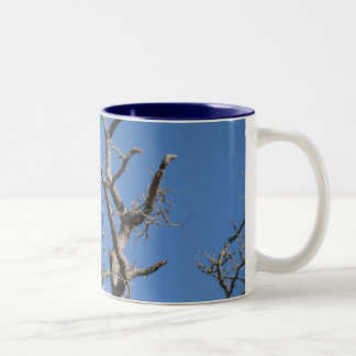 Tree Branches Two-Tone Coffee Mug
