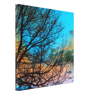 Tree Branches Wrapped Canvas