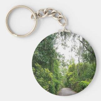 Tree Bridge Key Chain