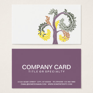 tree by abbey foster business card