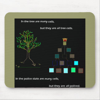 Tree Cells Mousepad