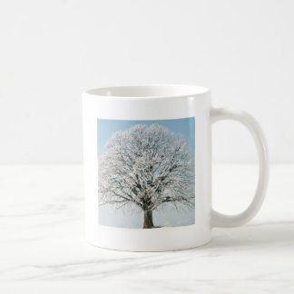 Tree Change Of Season Basic White Mug