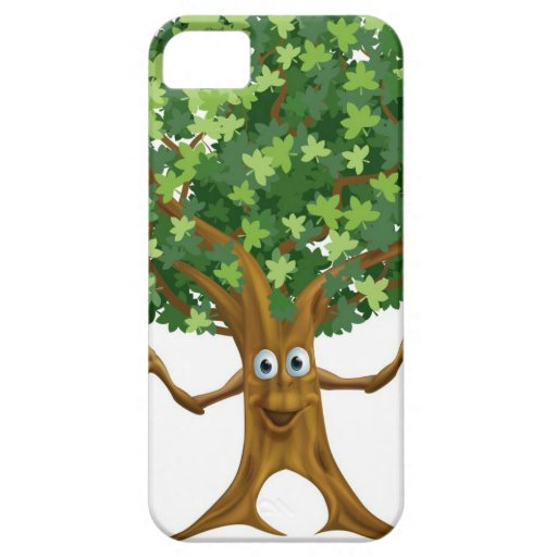 Tree character cartoon case for the iPhone 5