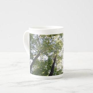 Tree coffee mug bone china mug