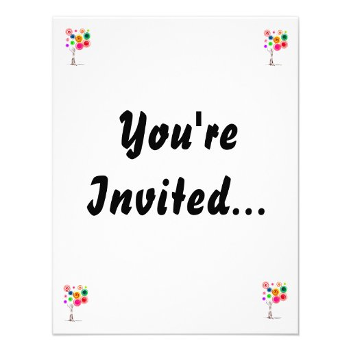 Tree colored swirls spiral eco graphic.png personalized invitations