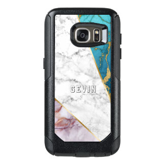 Tree Colors Marble geometric Design OtterBox Samsung Galaxy S7 Case