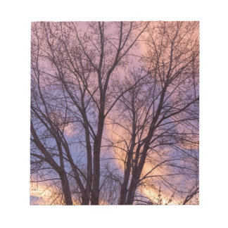 Tree Colors Of The Night Notepad
