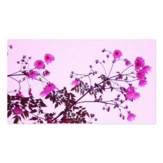 Tree Dahlia Business Card