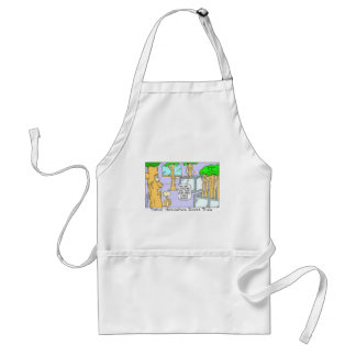 Tree Divorce: Funny Gifts Tees & Collectibles Standard Apron