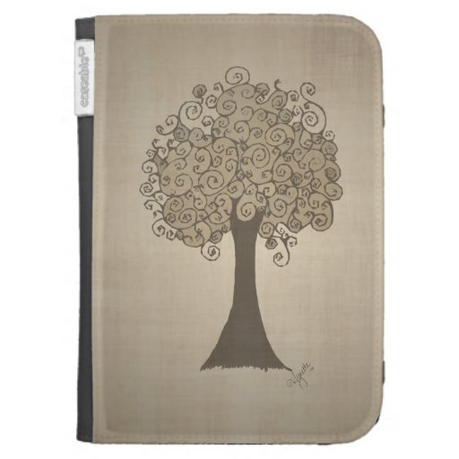 Tree Doodle Kindle Covers