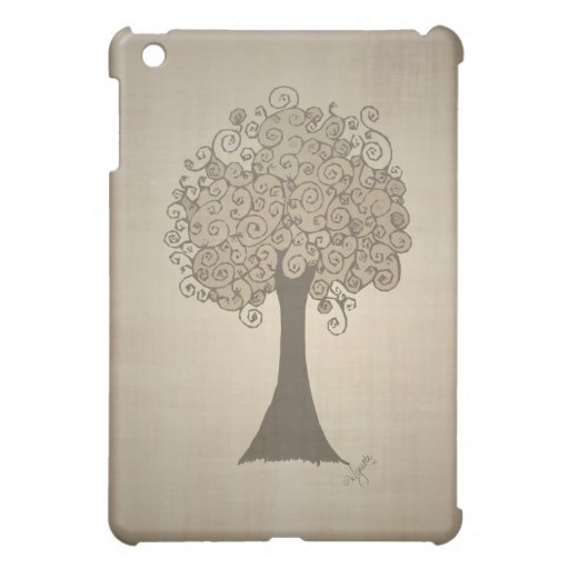 Tree Doodle iPad Case