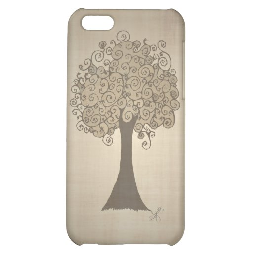 Tree Doodle iPhone 4 Case