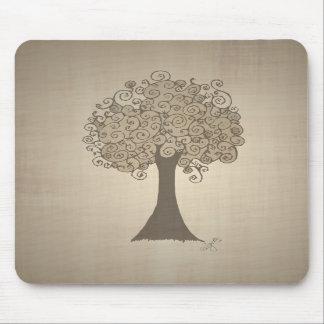 Tree Doodle Mousepad