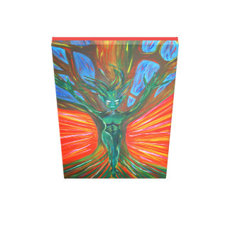 Tree Dryad - Creation of life Canvas Print