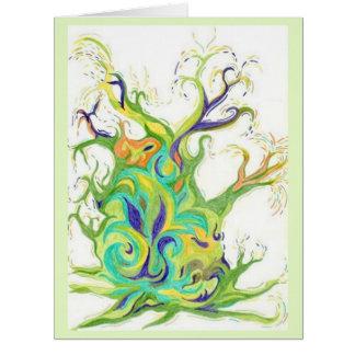 Tree Energy x 5 image BIG Card