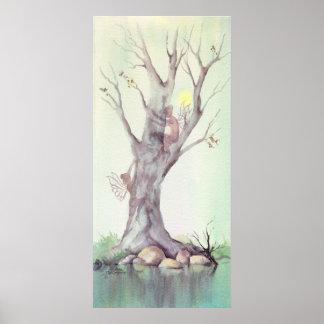 TREE FAERIES 2 by SHARON SHARPE Print