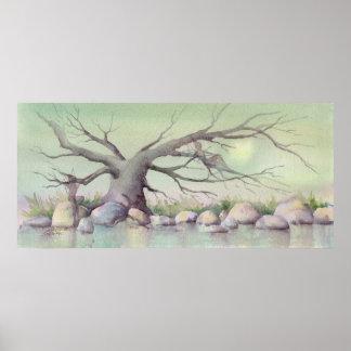 TREE FAERIES by SHARON SHARPE Print