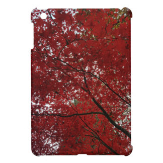 Tree Fall Season Red Brown Autumn Leaves Cover For The iPad Mini