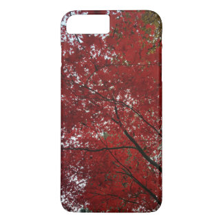 Tree Fall Season Red Brown Autumn Leaves iPhone 8 Plus/7 Plus Case