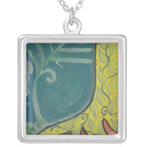 tree fern necklace