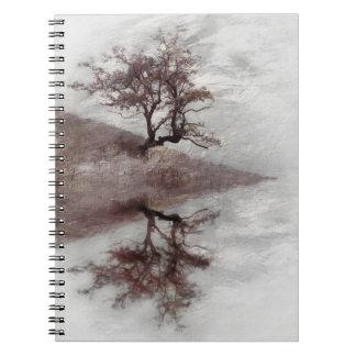Tree fine art photography spiral notebook