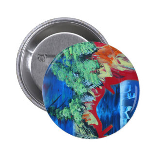 tree flame sky shield planet spacepainting button