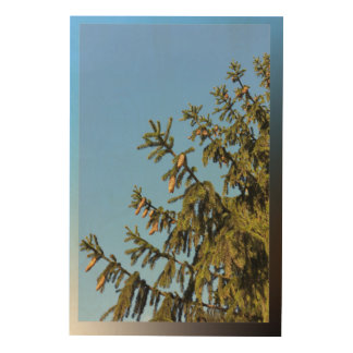 Tree for Christmas Wood Canvases