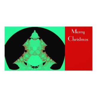 Tree Fractal Photo Greeting Card