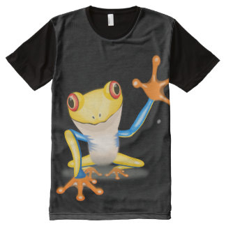 TREE FROG 2 All-Over PRINT T-Shirt