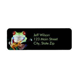 Tree Frog Address Labels