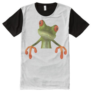 TREE FROG All-Over PRINT T-Shirt