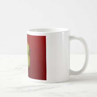 tree frog basic white mug