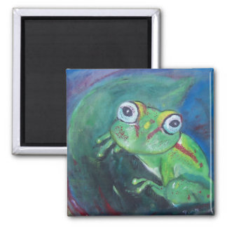 Tree Frog by Tiffany Deering Magnet