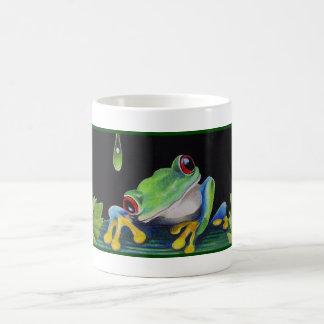 Tree Frog Coffee Cup Mug