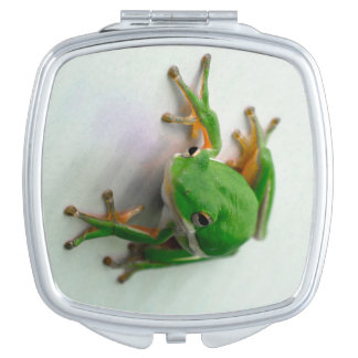 Tree Frog Compact Mirror