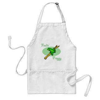 Tree Frog Design Standard Apron