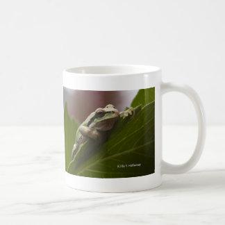 Tree Frog Classic White Coffee Mug