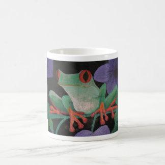 Tree frog mug #1