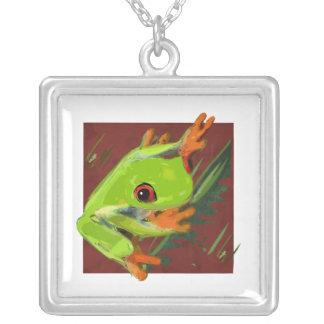 Tree Frog Custom Necklace