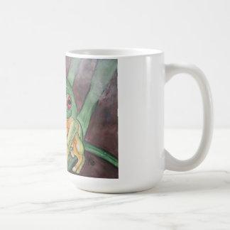 Tree Frog Novelty Mug