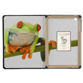 Tree frog on stem iPad mini retina cover