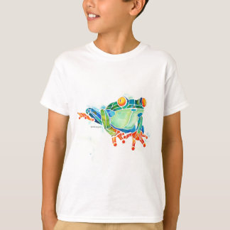 Tree Frog Whimsical Green T-Shirt