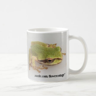 Tree Frogs Basic White Mug
