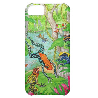 Tree Frogs Frolic iPhone 5C Case