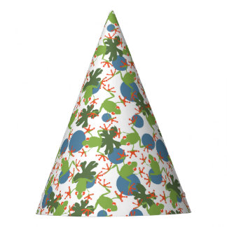Tree Frogs Party Hat