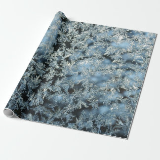 Tree Frost Nature Abstract Photographic Art Wrapping Paper