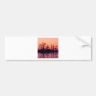 Tree Gloomy Wood Bumper Stickers