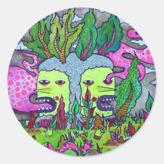 Tree Goblin Classic Round Sticker