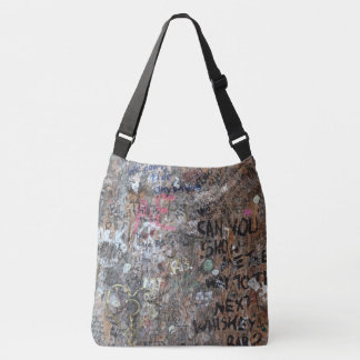 Tree graffiti Art Crossbody Bag