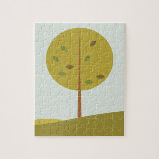 Tree green original edition jigsaw puzzle